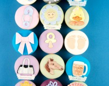 'Assorted Mini Set' our Assorted Mini Set can be used on large cakes and cupcakes