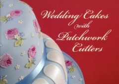 Wedding Cakes with Patchwork Cutters